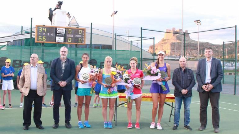 Georgina García gana la final de dobles junto a la venezolana Andrea Gamiz
